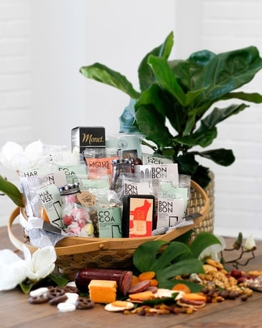 Good for the Soul Bounty Basket Gift Basket