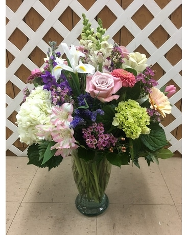 Spring Selections Flower Arrangement