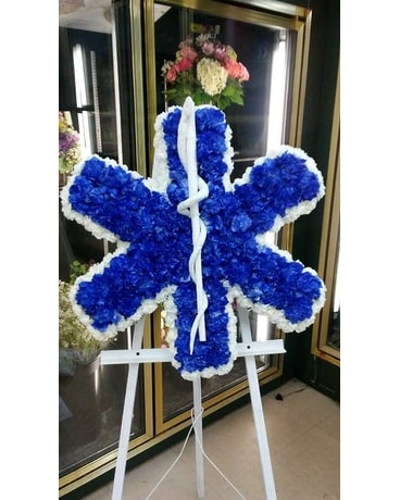 Star of Life Funeral Arrangement