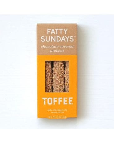Fatty Sundays Toffee Pretzels Gifts