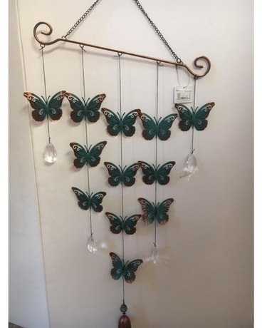 Butterfly Wind Chime Gifts