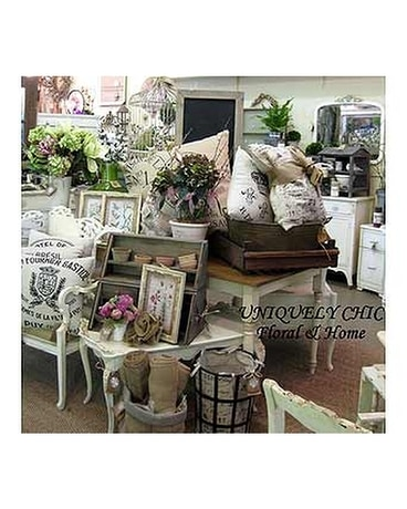 Uniquely Chic Floral & Home Flower Arrangement