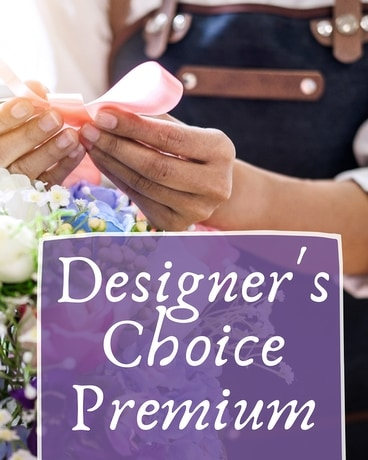 Designer's Choice - Premium Vase Flower Arrangement