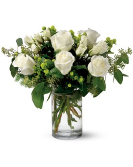 Teleflora's Alpine Roses Flower Arrangement