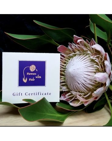 Gift Certificate Custom product