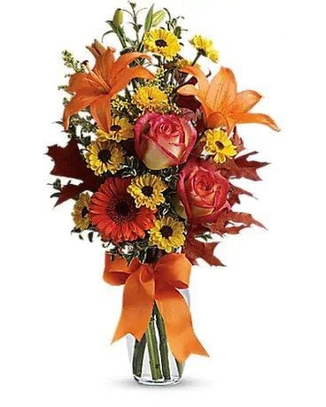 The Thanksgiving Thoughts Flower Arrangement