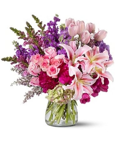 Hot springs florist flower delivery by johnson floral co royal radiance flower arrangement mightylinksfo