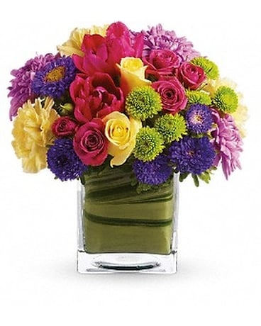 Teleflora's One Fine Day Flower Arrangement