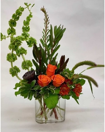 Audacious Autumn Flower Arrangement
