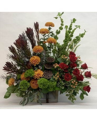 Autumn Tribute Flower Arrangement