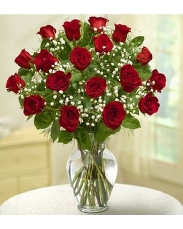 18 Roses for dozen price Flowers