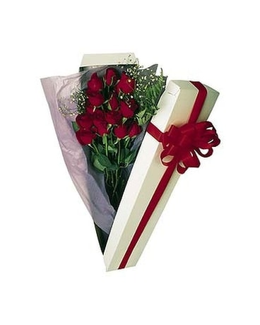 Boxed Roses(For local delivery only)