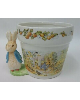 Peter Rabbit with Flower Arrangement Flower Arrangement