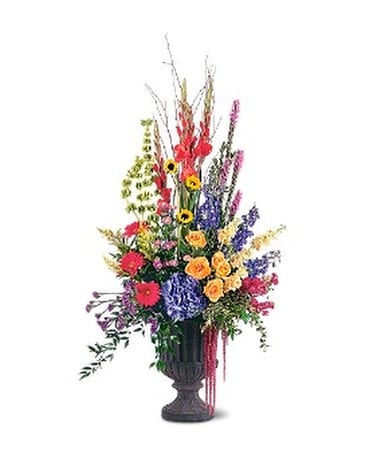 Grand Sentiments Flower Arrangement