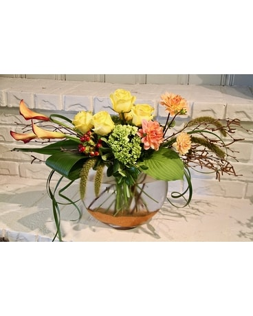 Goddess Glam Flower Arrangement