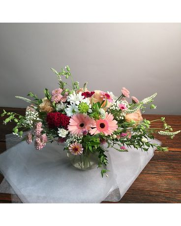 Bubble of Blooms Flower Arrangement