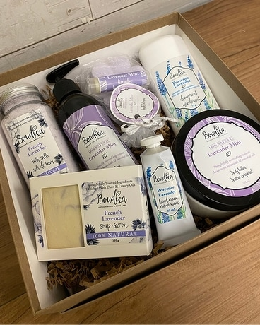 Lavender Boudica Spa Box Custom product