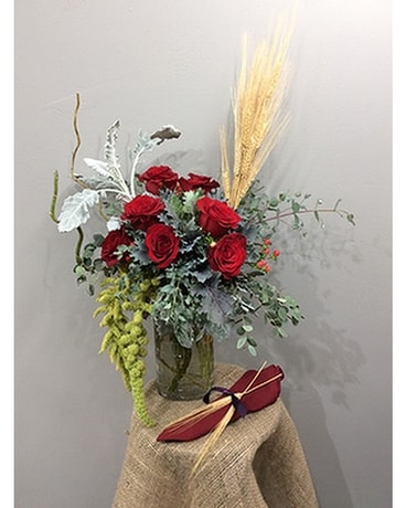 Lafayette Florist's Lovely Autumn Bouquet Flower Arrangement