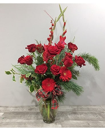 Lafayette Florist Winter Rose Bouquet Flower Arrangement