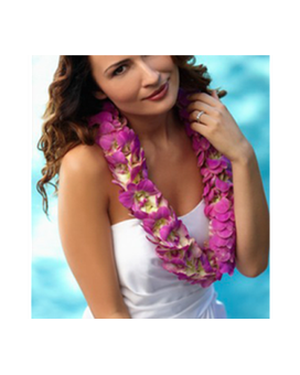 Hawaiian Lei Flower Arrangement
