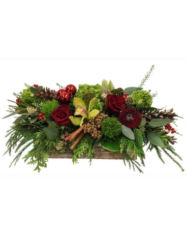 Christmas Flair Flower Arrangement