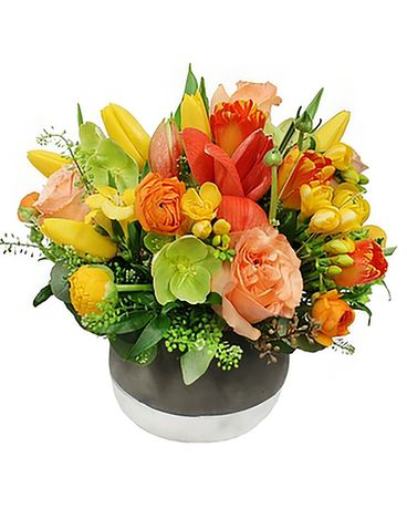 Citrus Squeeze Flower Arrangement