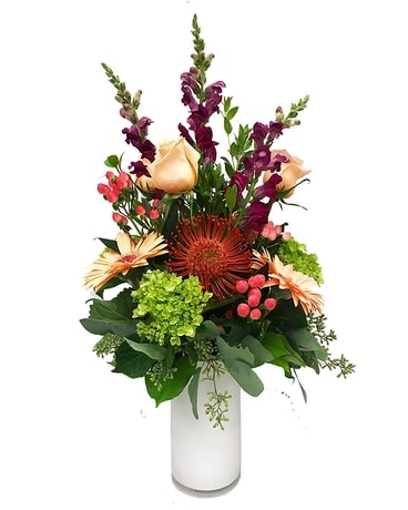 Bright & Berry Flower Arrangement