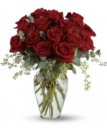 16 Roses Arranged Flower Arrangement