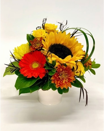 Autumn Sun Flower Arrangement