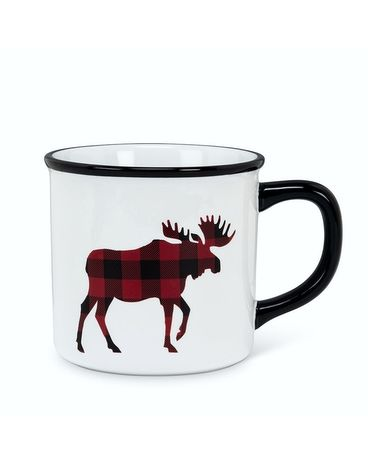 Plaid Moose Mug Gifts