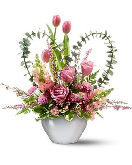 Tender Hearts Flower Arrangement