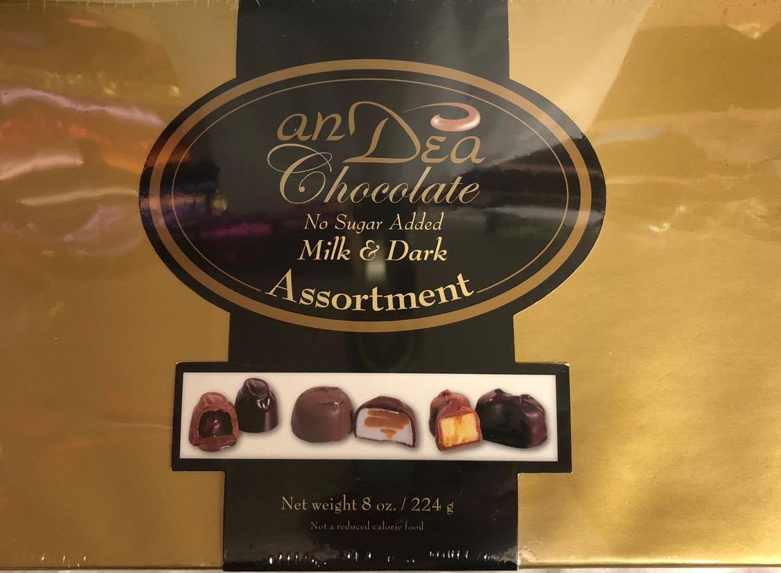 No Sugar Added Assorted Chocolates