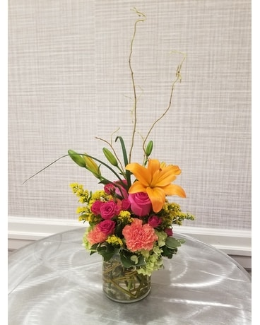 Cheerful Smiles Flower Arrangement