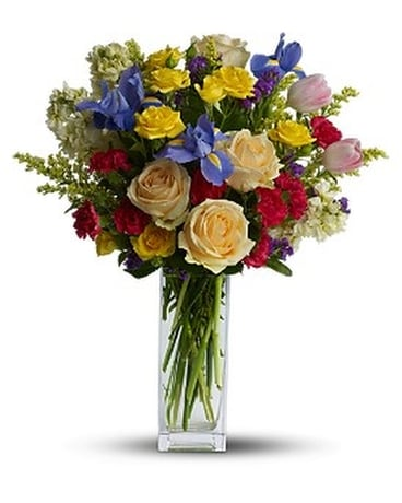 Teleflora's Harmony of Hues Flower Arrangement