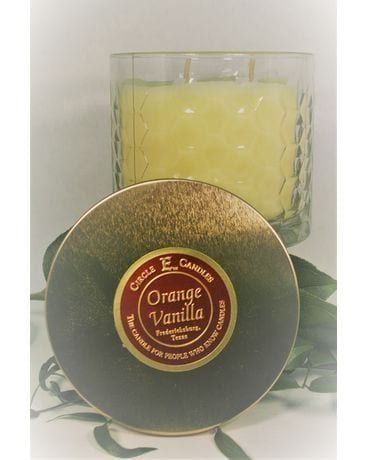 Circle E Orange Vanilla Candle small Gifts