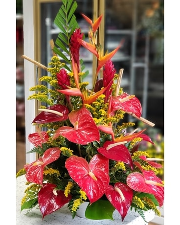 MTF1217 Tropical Arrangement Flower Arrangement