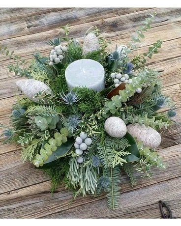 Winter Skies Flower Arrangement