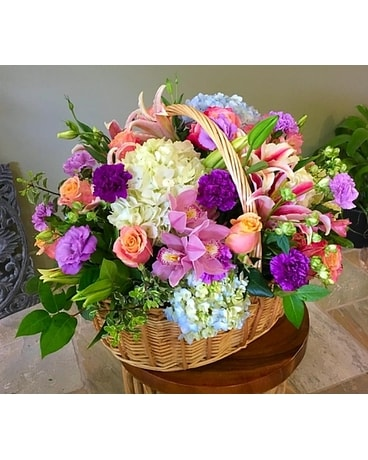 Spring basket Basket Arrangement