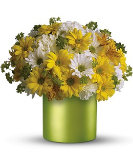 Teleflora's Hello Sunshine Flower Arrangement
