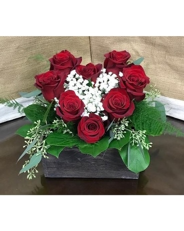 Hearts to You Flower Arrangement