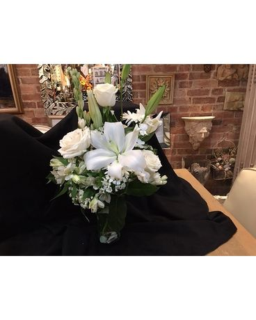 SEASONAL WHITES Flower Arrangement