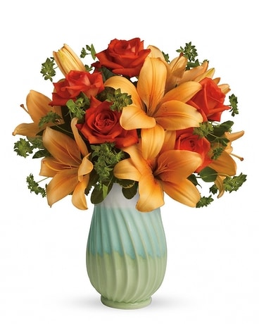 Autumn Colors Flower Arrangement