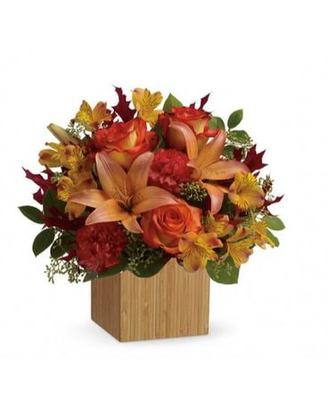 Autumn Joy Flower Arrangement