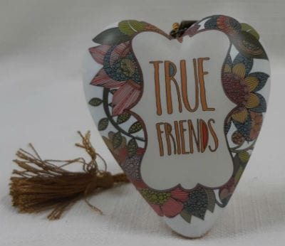 True Friends Art Heart