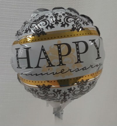 Small Happy Anniversary Balloon