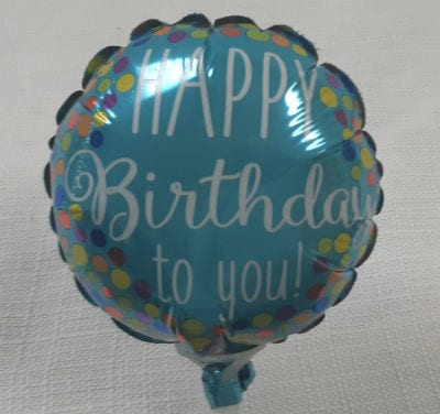 Small Happy Birthday Balloon