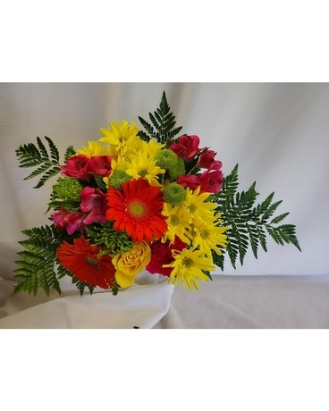 Tropical Sherbert Bouquet Flower Arrangement