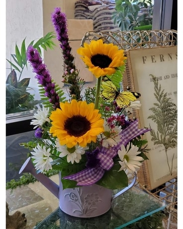 SUNFLOWER SPRINKLE Flower Arrangement