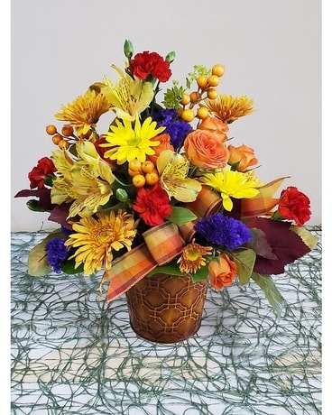 TOUCH OF FALL Flower Arrangement