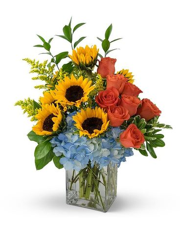 Hugs & Smiles Summer Fun Bouquet Flower Arrangement